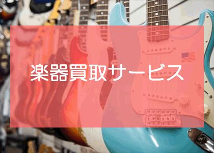 楽器買取サービス